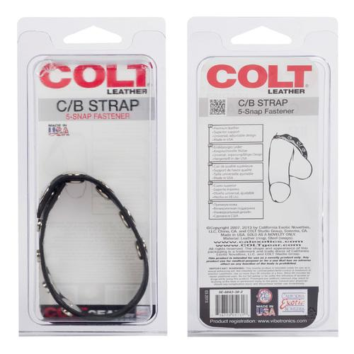 Colt Adjustable 5 Snap Leather