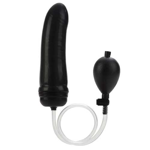 Colt Hefty Probe Inflatable Butt Plug - Black