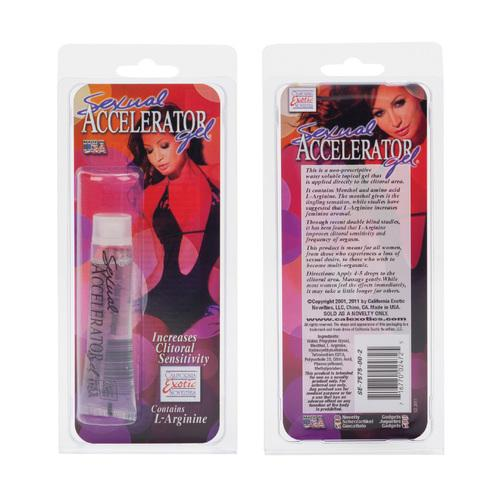 Sexual Accelerator Gel 5 Oz