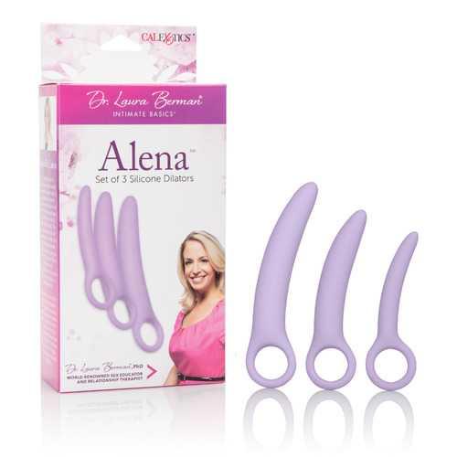 Dr. Laura Berman Alena Set of 3 Silicone Dilators