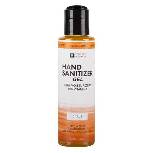 Concept Naturals Hand Sanitizer Gel - Citrus - 4.2 Fl. Oz.