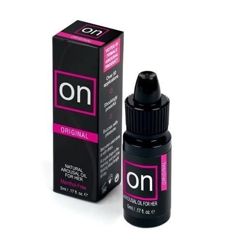 On Natural Arousal Oil - Original - 0.17 Fl. Oz. - Small Box