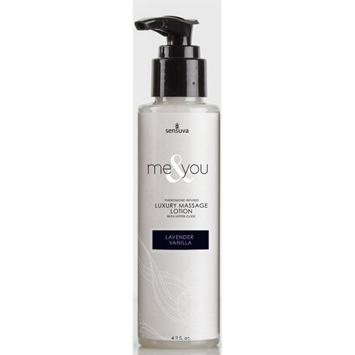 Me and You Massage Lotion - Lavender Vanilla - 4.2 Fl. Oz.