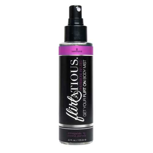 Flirtatious Pheromone Infused Body Mist - Pomegranate, Fig, & Plumeria - 4.2 fl.oz /125ml