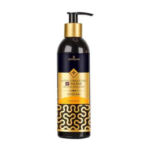 Ultra-Stimulating on Insane Personal Moisturizer 8.12 Fl Oz. - Butter Rum