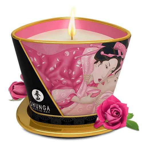 Massage Candle - Aphrodisia - Roses - 5.7 Oz.