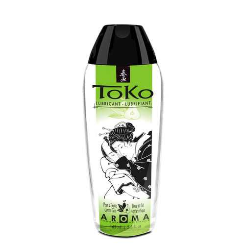 Toko Aroma Personal Lubricant - Pear & Exotic Green Tea - 5.5 Fl. Oz.