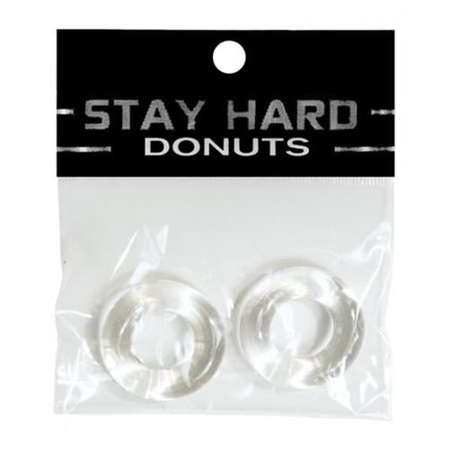 Stay Hard Donuts - 2 Pack - Clear