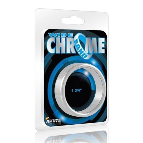 Wide Chrome Band LR307 wc