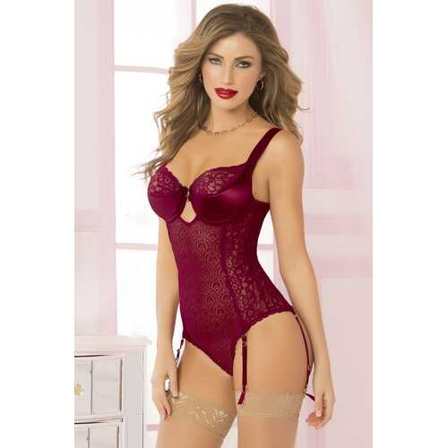 Savoir Faire Teddy Set  - Large - Wine