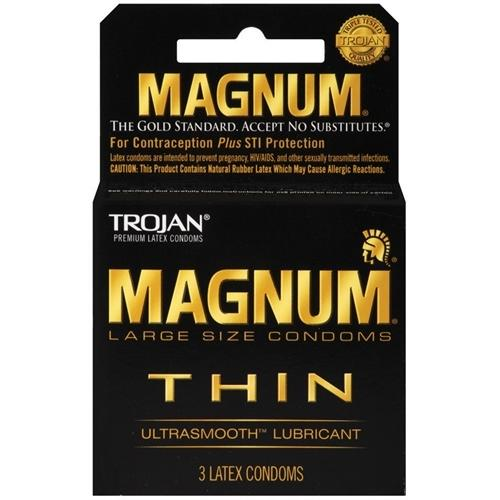 Trojan Magnum Thin - 3 Pack