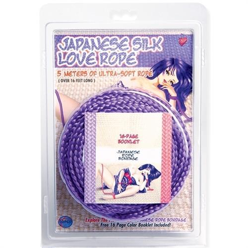 Japanese Silk Love Rope Purple 5m/16ft Ts1442-6