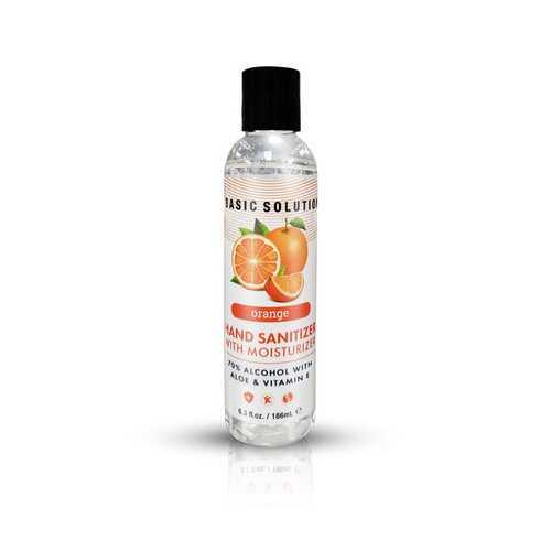Basic Solutions Hand Sanitizer With Moisturizer - Orange - 6.3 Oz.