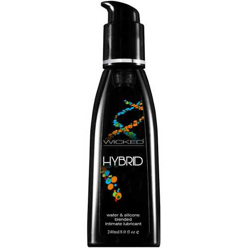 Wicked Hybrid Water & Silicone Lubricant 8.0 Oz