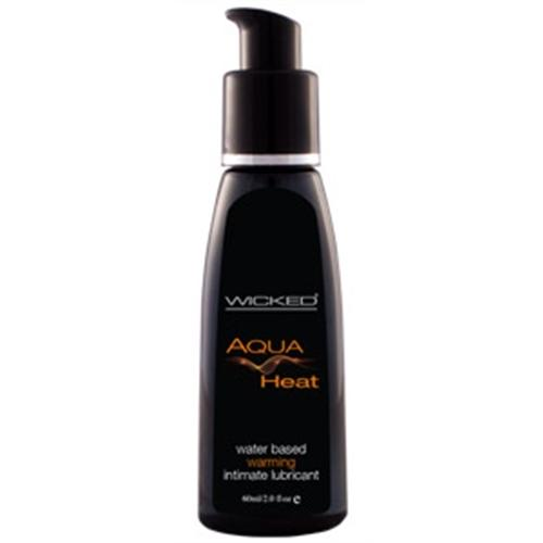 Aqua Heat Water Based Warming Senstion  Lubricant 2 Oz.