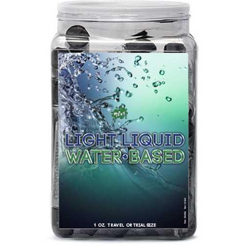Wet Light Liquid Lubricant 36pc Display 1 Oz