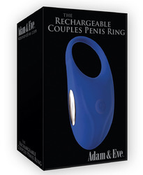 Adam & Eve the Rechargeable Couples Penis Ring