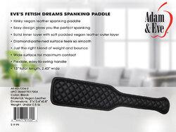 Eve's Fetish Dreams Spanking Paddle