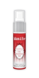 Adam and Eve Strawberry Clit Sensitizer Gel 1 Oz