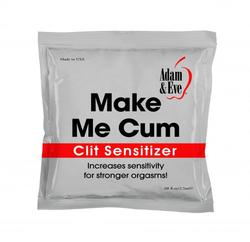 Adam and Eve Make Me Cum Clit Sensitizer - 2.5ml Foil Pack