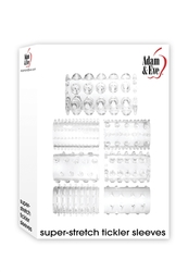 Adam and Eve Super Stretch Sleeves - Clear