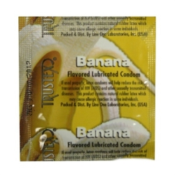 Trustex Flavored Lubricated Condoms - 3 Pack - Banana