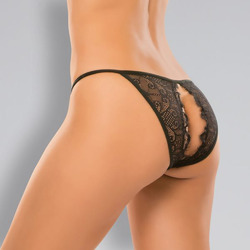 Adore Enchanted Belle Panty - One Size - Black
