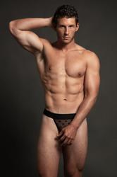Luca Star Jock - Black - L/xl