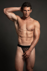 Luca Star Jock - Black - S/m