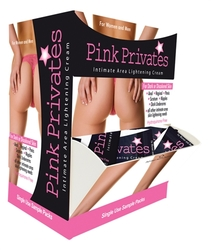 Pink Privates Cream 50 Pieces Display