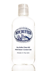 Boy Butter Clear H2O 8 Oz