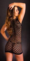 Cap Sleeve Dress - One Size - Black