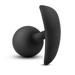 Luxe Wearable Vibra Plug - Black