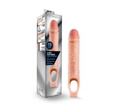 Performance - 10 Inch Cock Sheath Penis Extender - Vanilla