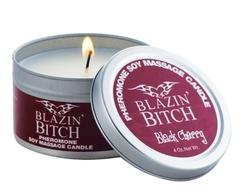 Pheromone Candle Blazin Bitch - 4 Oz.