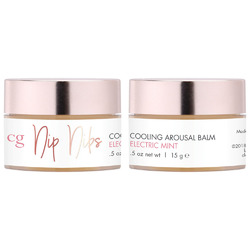 Nip Nibs Cooling Arousal Balm Electric Mint  0.5 Oz.