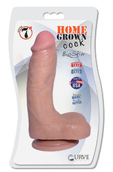 "7"" Home Grown Cock - Latte"