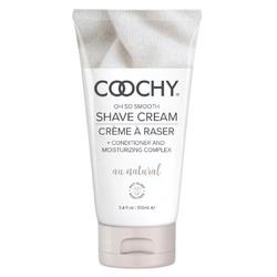 Coochy Shave Cream - Au Natural - 3.4 Oz