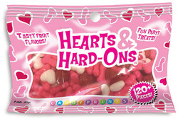 Hearts and Hard-Ons Naughty Confections 3oz Bag