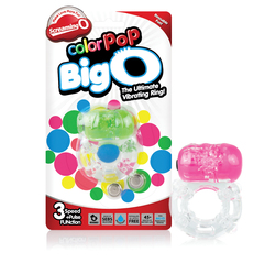 Screaming O Colorpop Big O - 6 Count Box - Assorted Colors