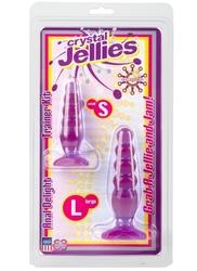 Crystal Jellies Anal Trainer Kit - Purple