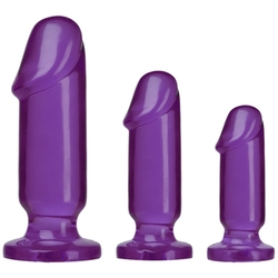 Crystal Jellies Anal Starter Kit - Purple
