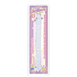 Crystal Jellies 18 Inch Double Dong - Clear