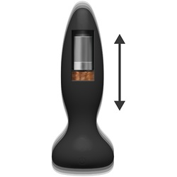 A-Play - Thrust - Adventurous - Rechargeable  Silicone Anal Plug With Remote