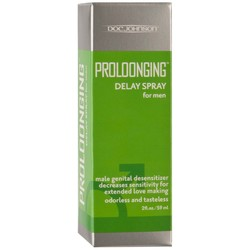 Proloonging Delay Spray for Men - 2 Fl. Oz. - Boxed