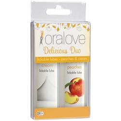 Oral Love Dynamic Duo - Peaches and Cream