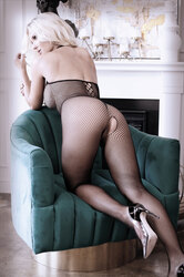 Adore You Fishnet Bodystocking - One Size
