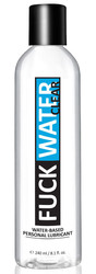 Fuck Water Clear 8.1oz Water Based Lubricant