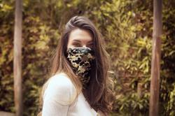 Face/ Neck Bandana - Camouflage Print - One Size