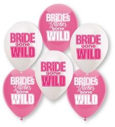 Bride Gone Wild Balloon Assortment - 6 Count